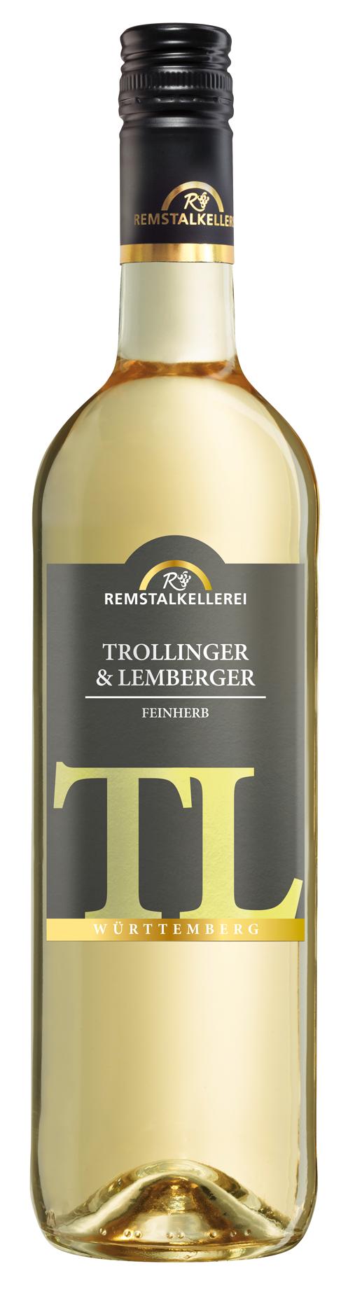 "Trollinger mit Lemberger ""TL"" Blanc de Noir"