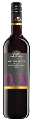 """Alkoholfreier Wein rot """"0.X"""""""