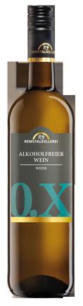"""Alkoholfreier Wein weiß """"0.X"""""""