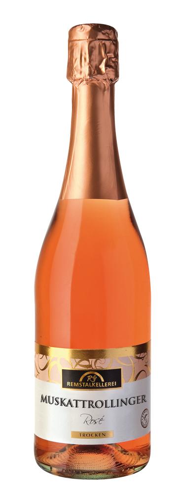 Muskattrollinger Rosé Sekt trocken