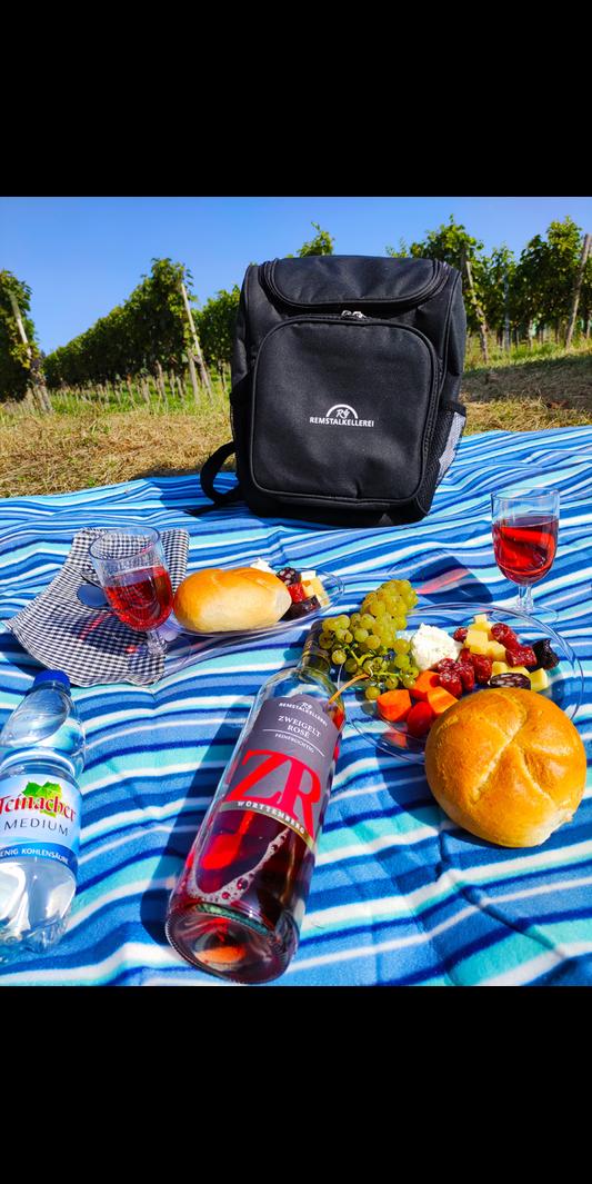 All-Inclusive Vesper mit Rucksack & Picknickdecke (Kaufen & Behalten)