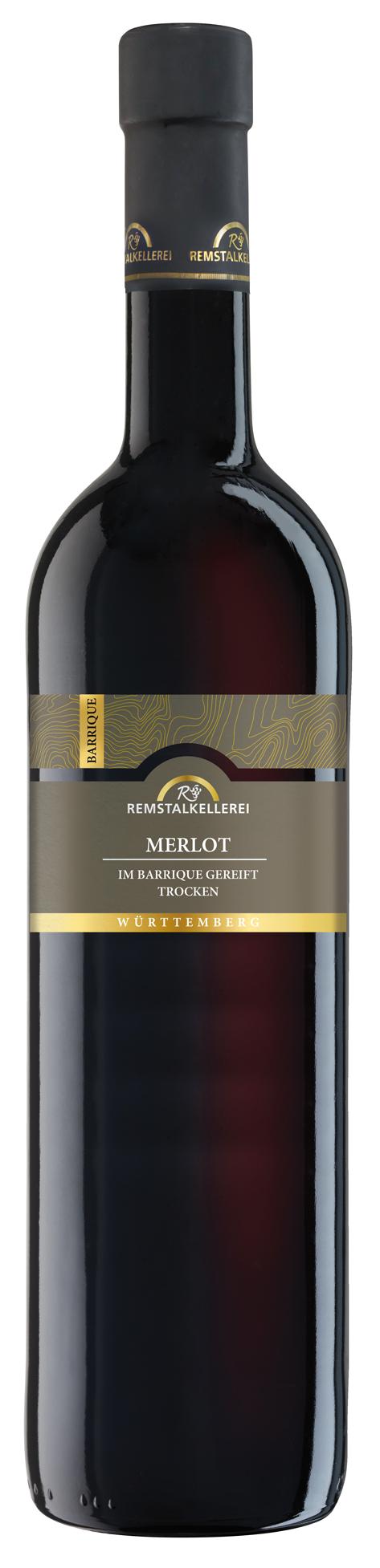 """Merlot """"Im Barrique gereift"""" trocken"""